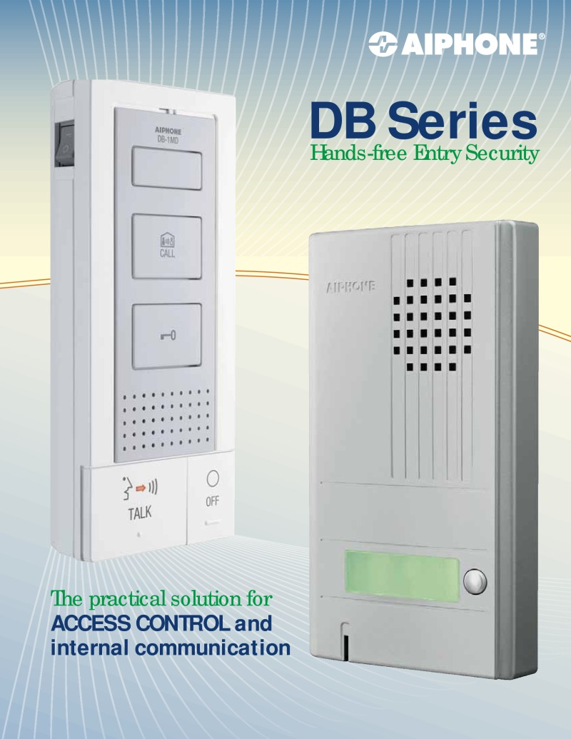Aiphone DB Series Brochure