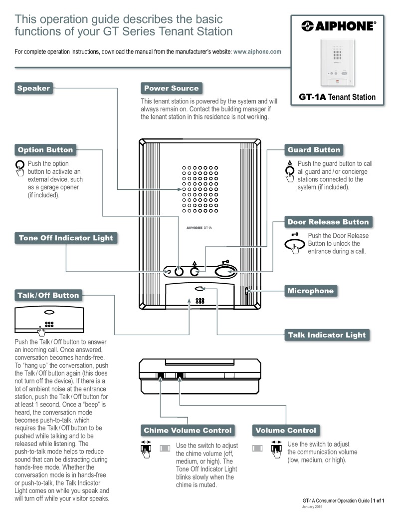 aiphone wiring diagram