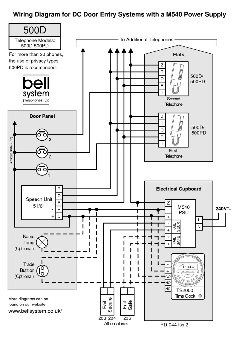 bell wiring diagrams system wiring diagram for door