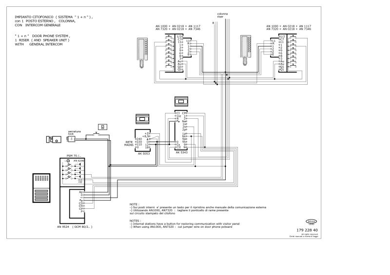 179 228 40 bitron wiring diagrams farfisa door entry wiring diagrams at fashall.co