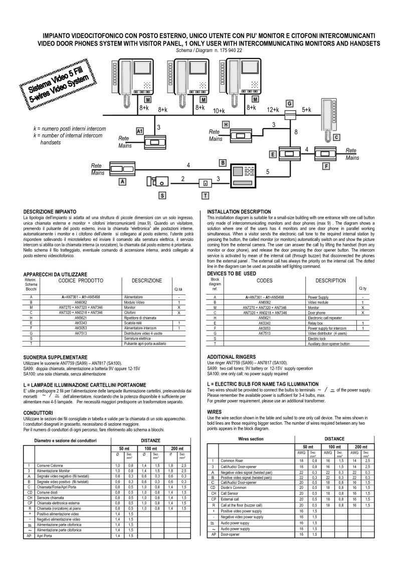 Dmc1 Wiring Diagram Not Lossing Bitron Video Intercom 36 Symbols