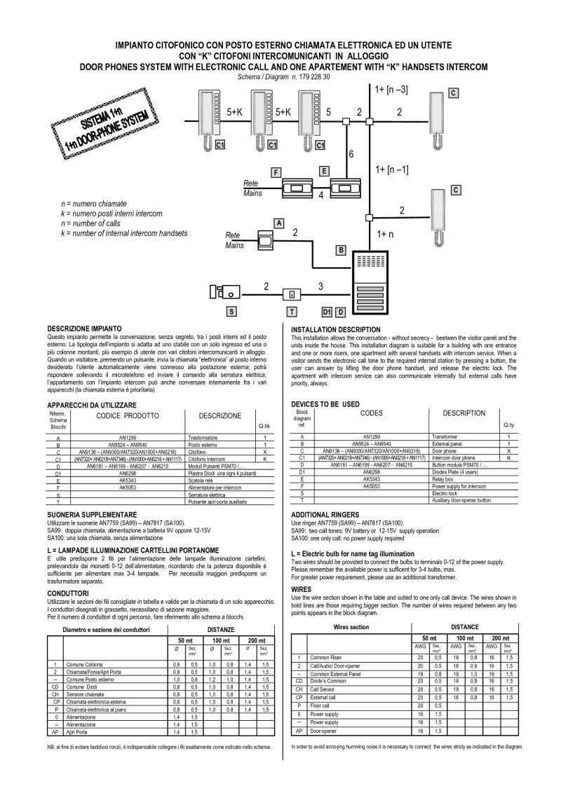Bitron Schemi Elettrici : Bitron wiring diagrams
