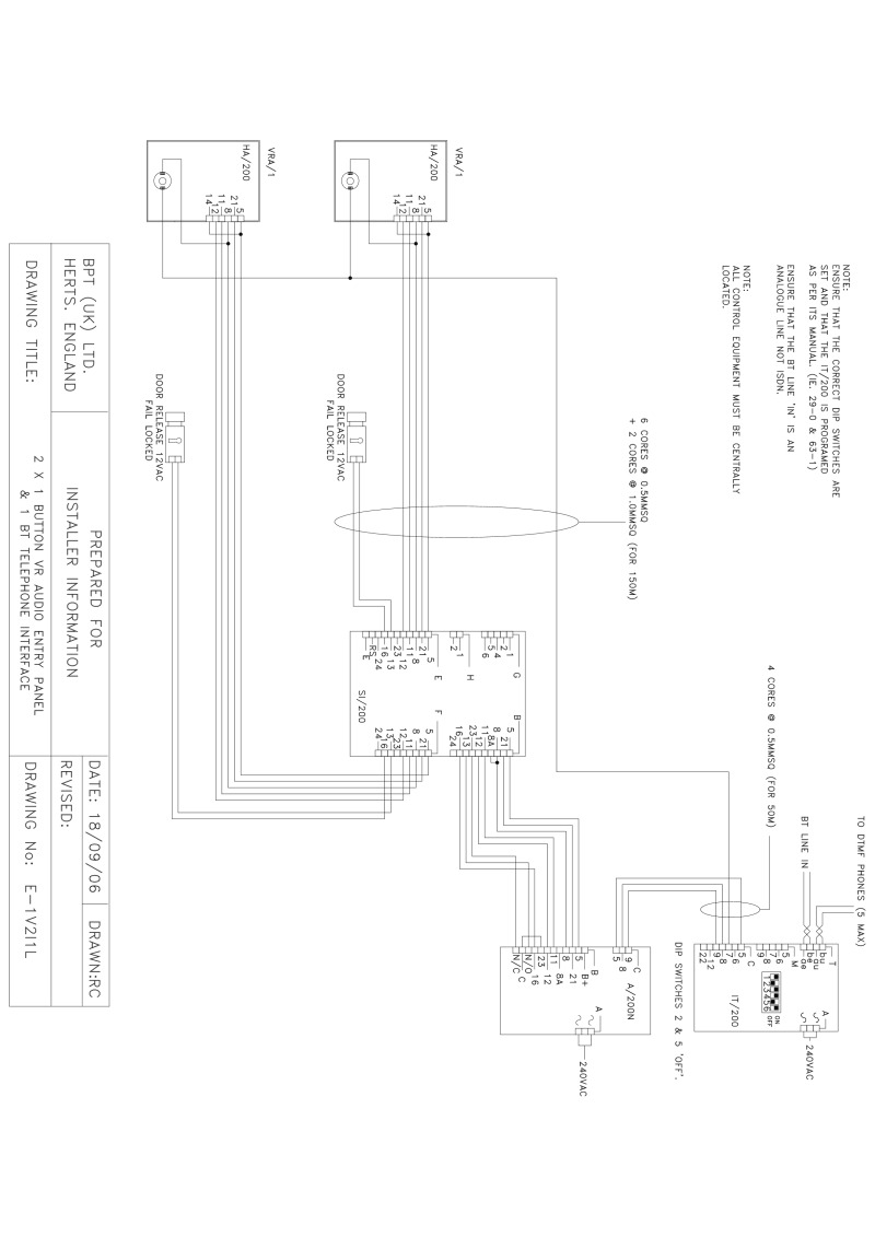 index of acrobat bpt diagrams audio system 200 using an a200n 2 x 1 button vr audi
