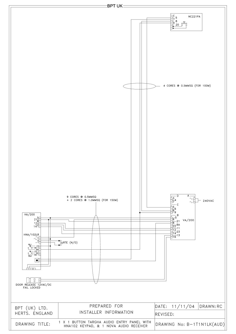 Bpt audio entry panel how ford tractor wiring diagram index of acrobatbptdiagramsaudio video system 200 using a 120x20120button asfbconference2016 Image collections