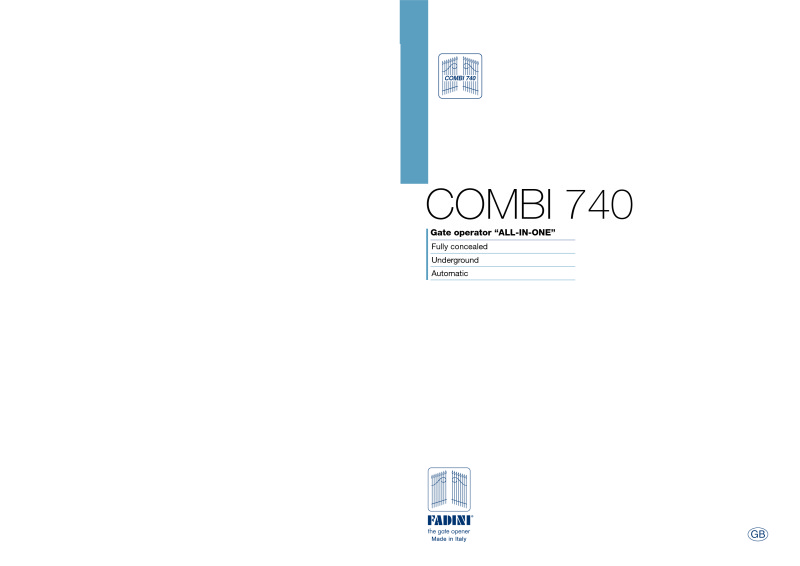 COMBI 740, 110 Degree, Right