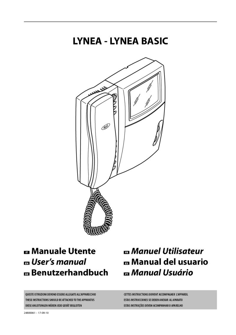 Bpt Installation Instructions Pro Comp Pc 8000 Wiring Diagram Lynea Receivers User Manual
