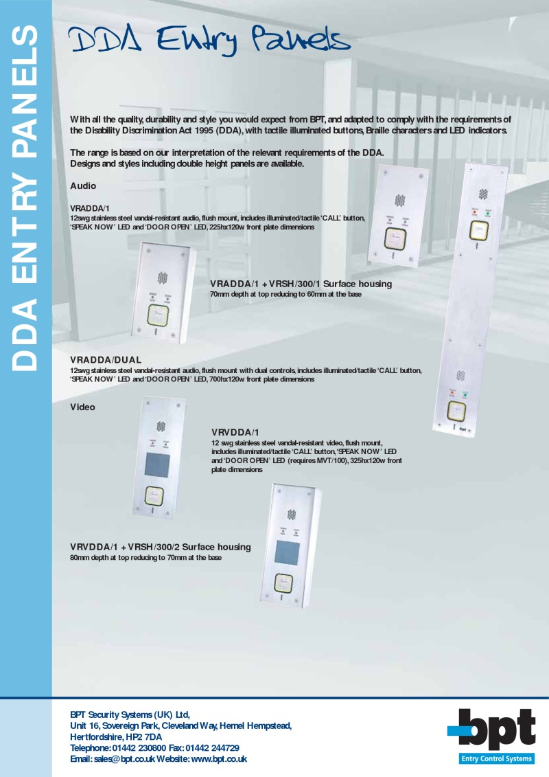 BPT DDA entry panels.pdf