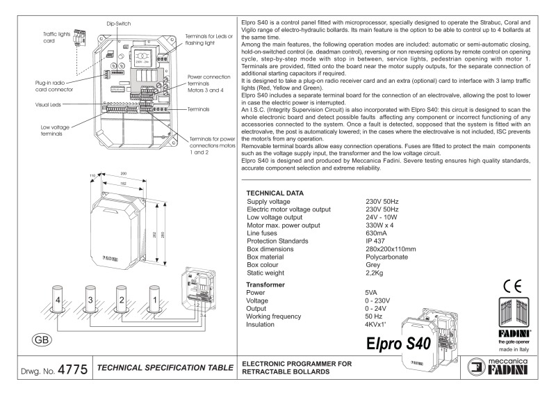 st_elpro_s40_gb bpt a200n wiring diagram diagram wiring diagrams for diy car repairs bpt a200n wiring diagram at bayanpartner.co