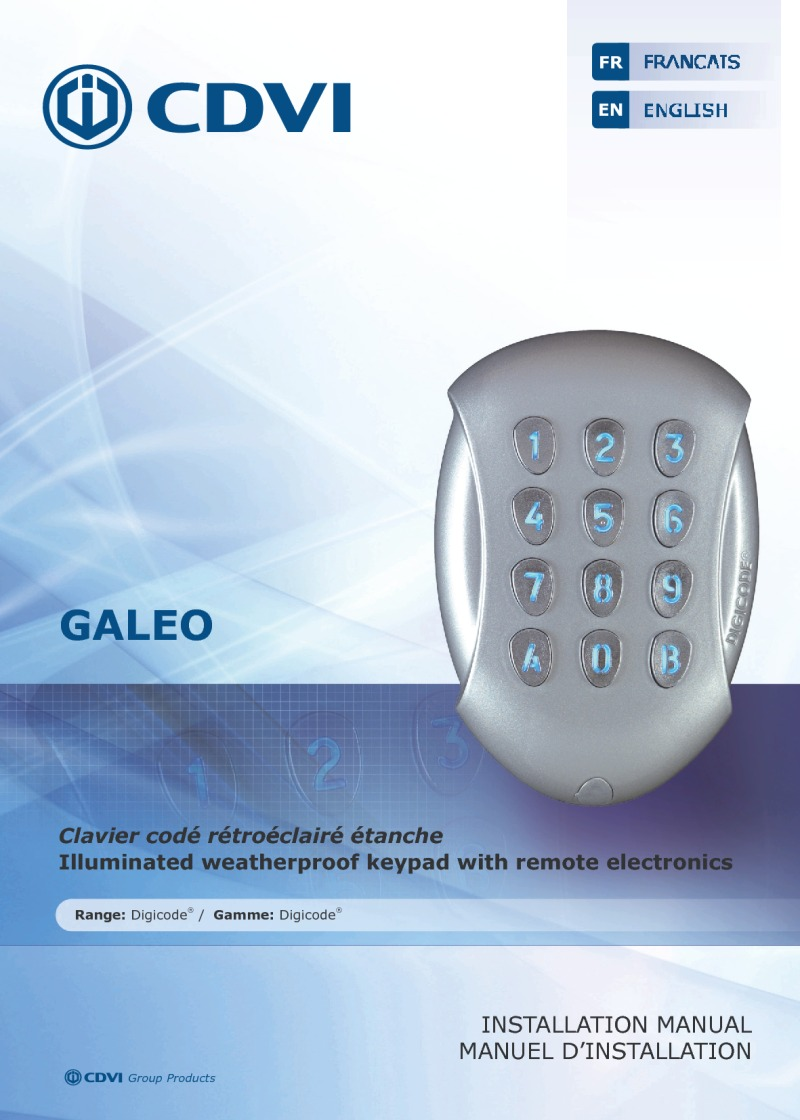 CDVi GALEO Instruction Manual