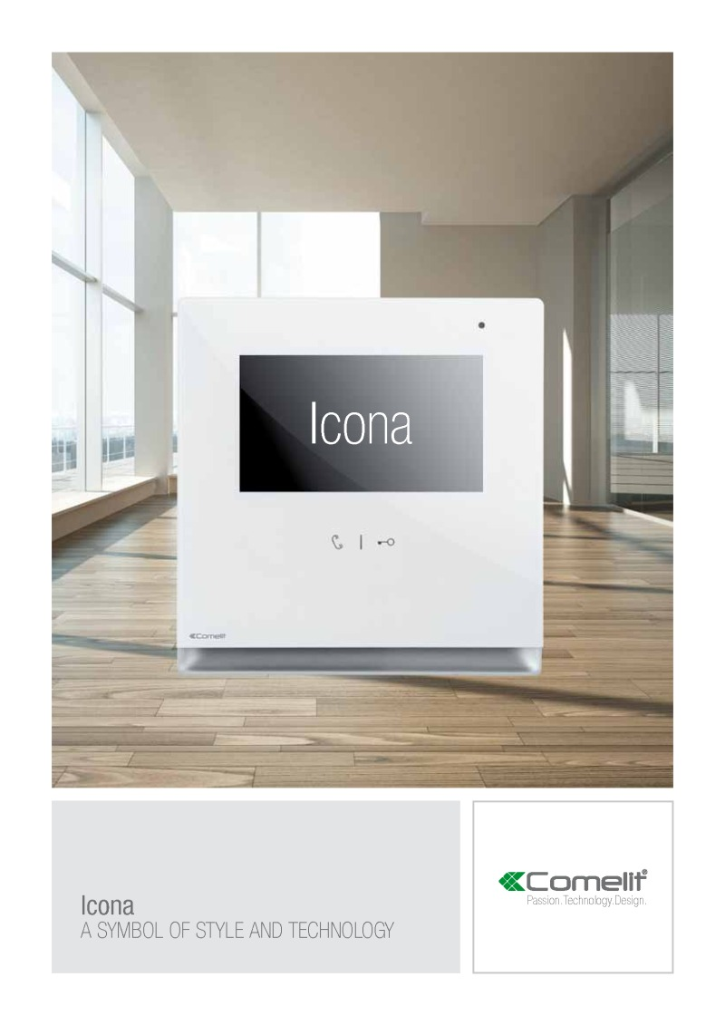 Comelit - Icona monitor catalogue (16 pages)