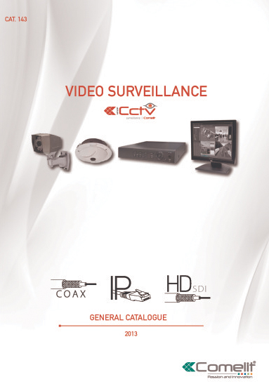 Comelit - Cat.143 CCTV product catalogue 2013 (174 pages)