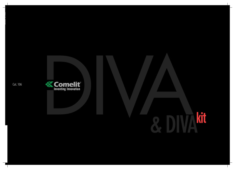 Comelit - Cat.106 Diva Kit Brochure