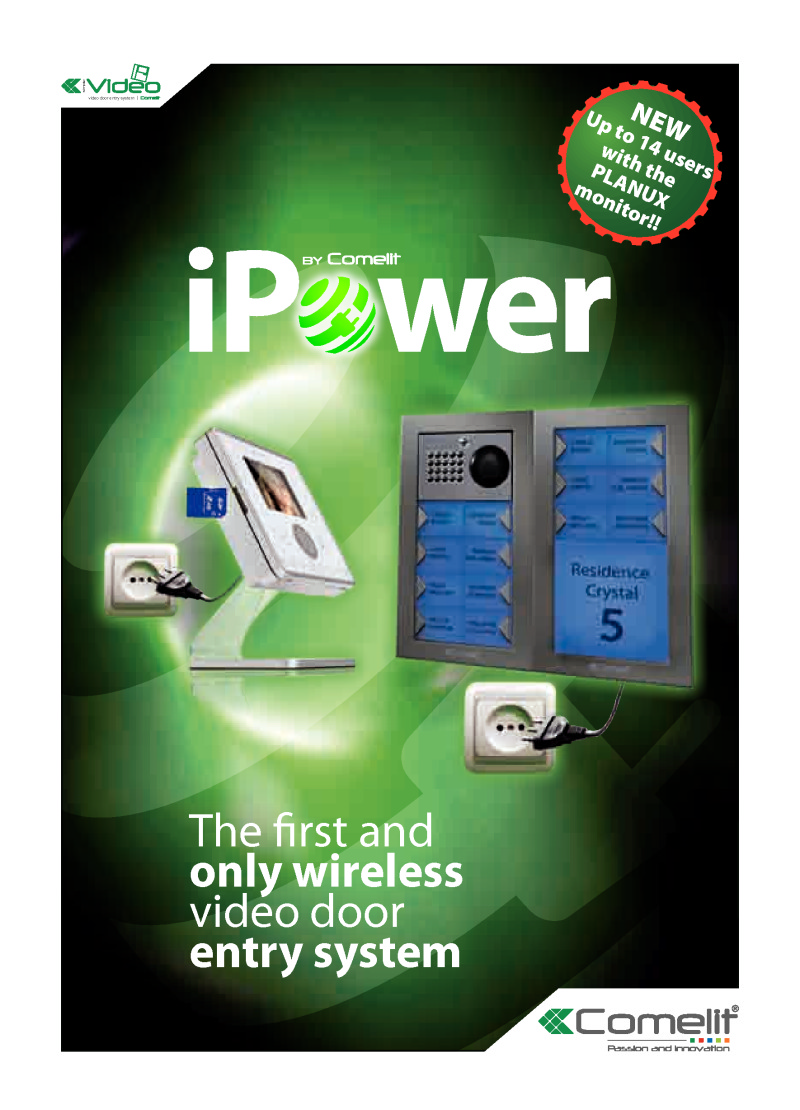Comelit - Cat.134 iPower catalogue (12 pages)