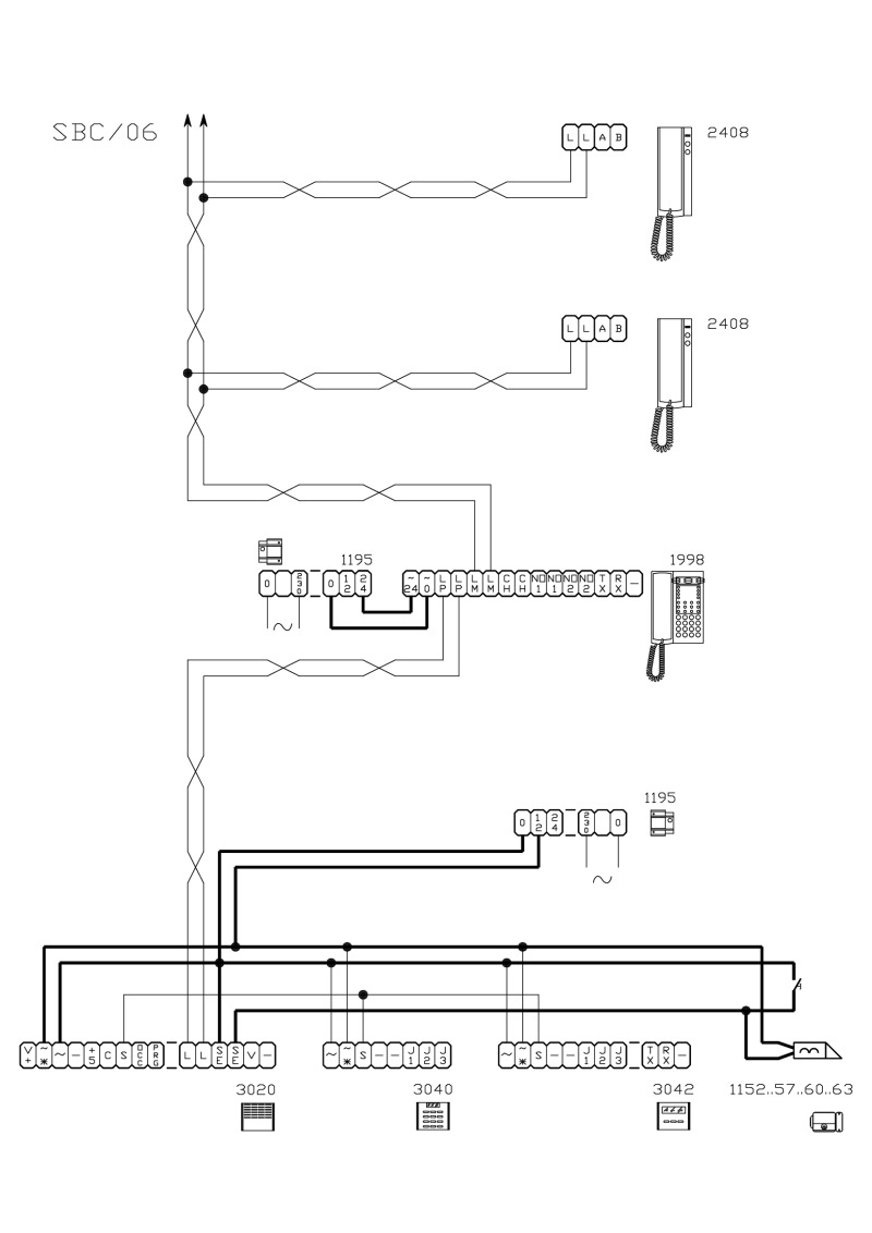 Comelit Wiring Diagrams