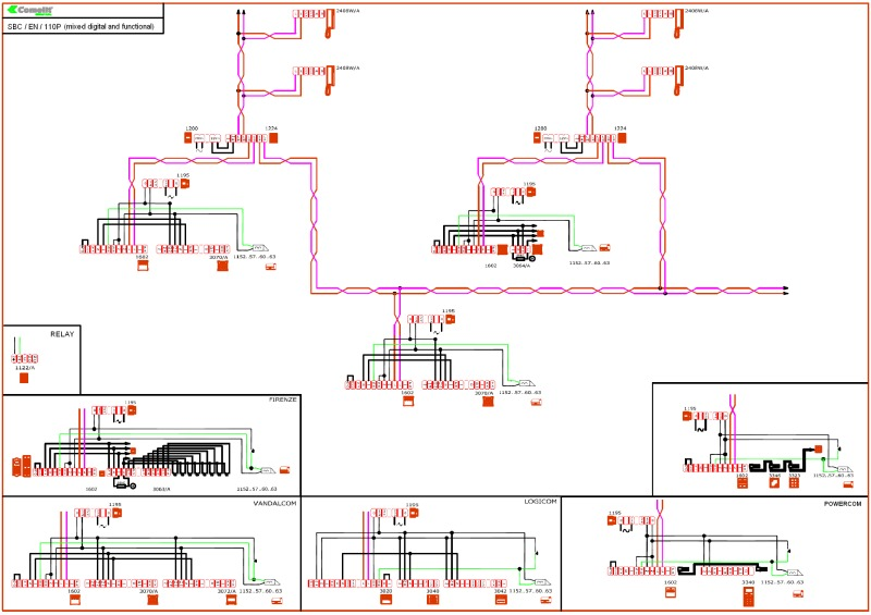 SBC_EN_110P_(mixed digital and functional) comelit wiring diagrams Comelit Panel at suagrazia.org