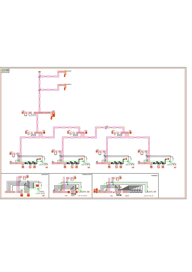 SBC_EN_129P comelit wiring diagrams comelit simplebus wiring diagram at fashall.co