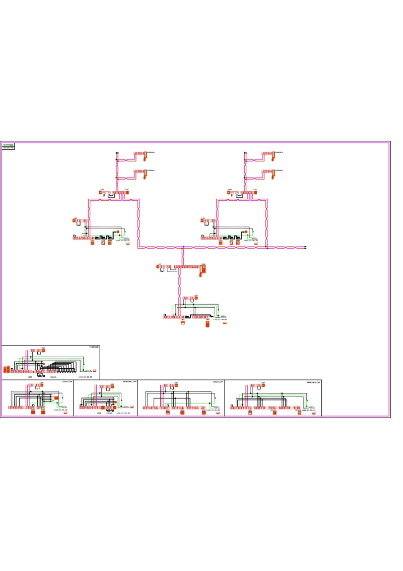 comelit wiring diagrams comelit door station 1 main entry digital cps n secondary entry functional
