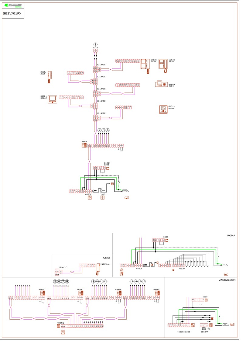sb2v_01px comelit wiring diagrams comelit simplebus wiring diagram at fashall.co