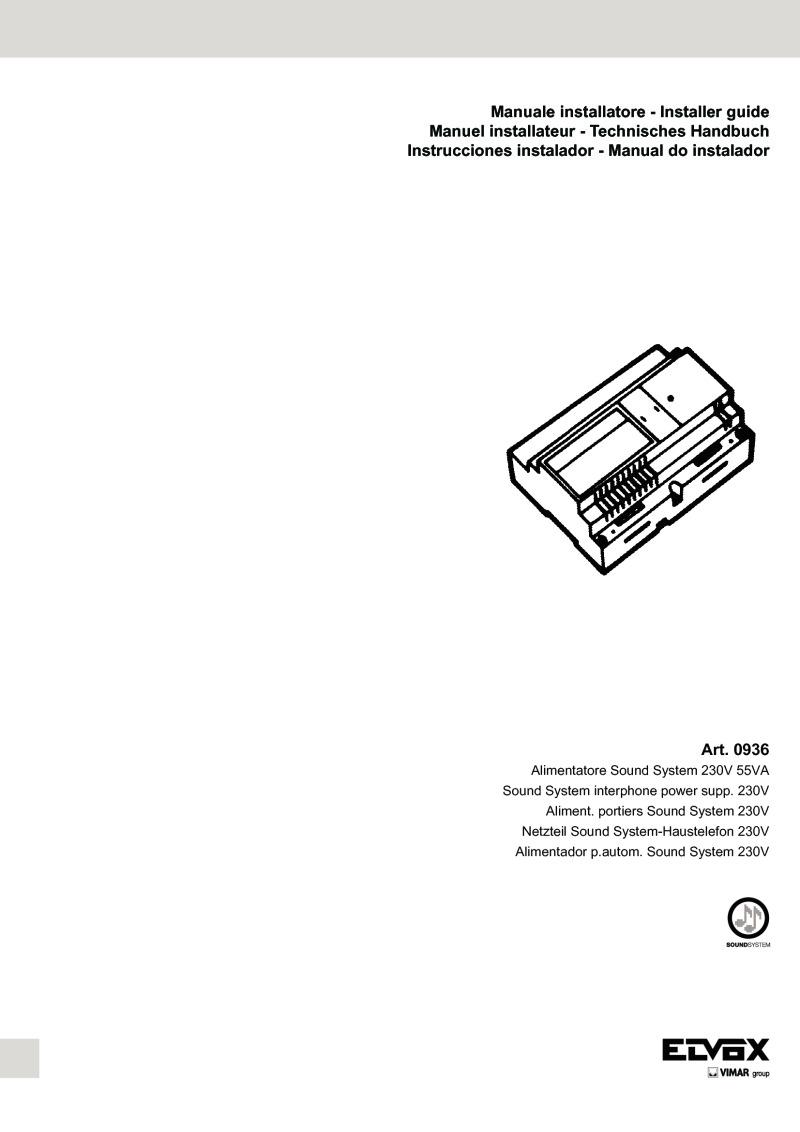 Schema Elettrico Citofono Elvox : Pin download elvox schema elettrico texte citofono on