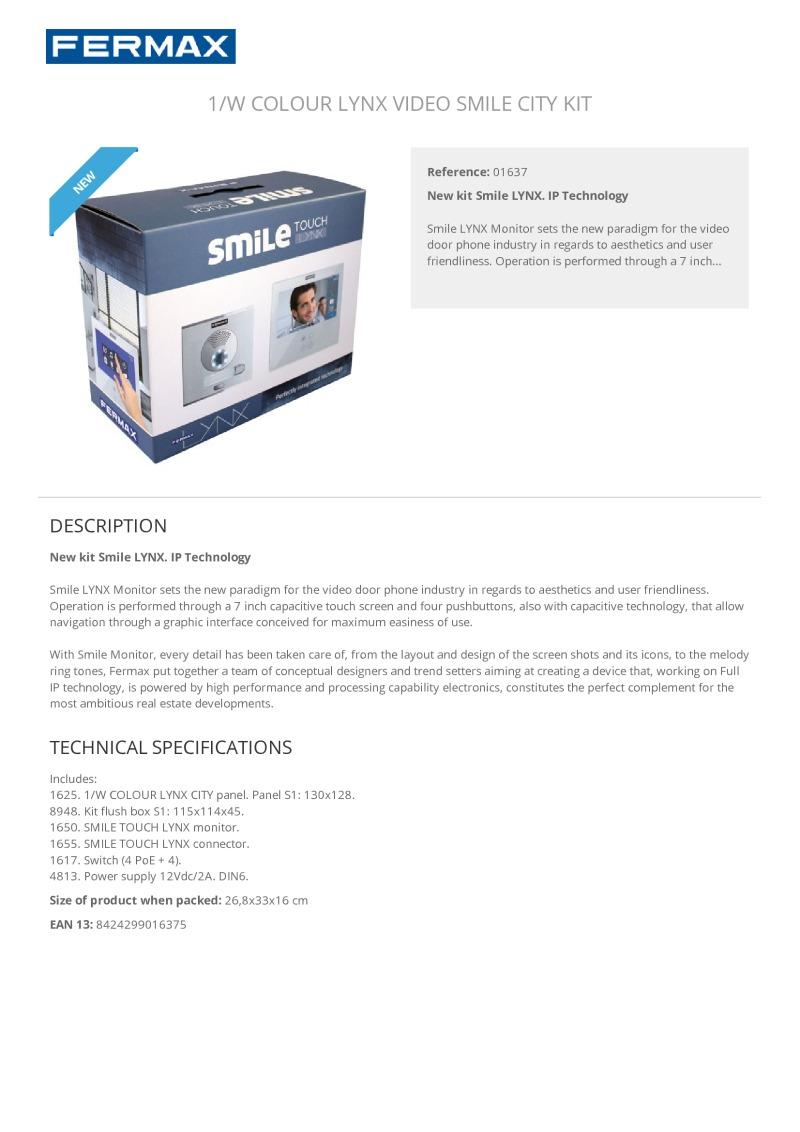 Index Of Acrobat Fermax Brochures Audio Visual Ringtone Circuit Schematic Diagram