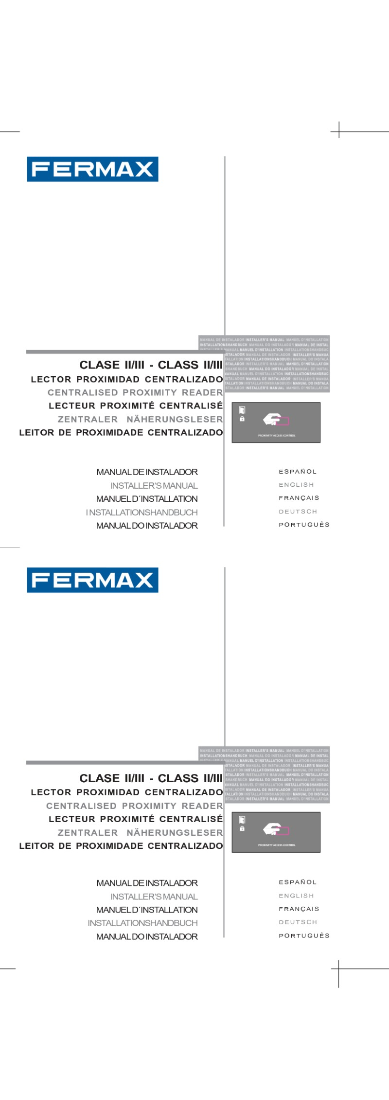 97598b Lector Proximidad Centralizado NCity V10_10 fermax installation instructions fermax cityline wiring diagram at aneh.co