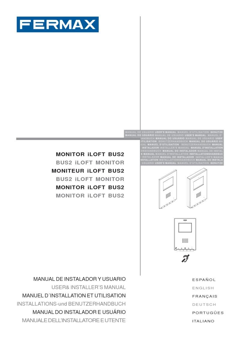 97485g Monitor iLoft BUS2 DDA empotr y superf V03_12 fermax installation instructions fermax wiring diagram at gsmx.co