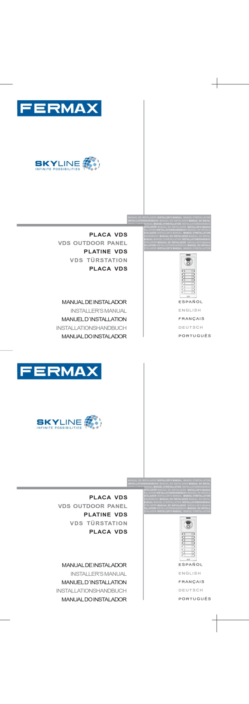fermax installation instructions rh doorentrydirect com Wiring- Diagram Wire Money