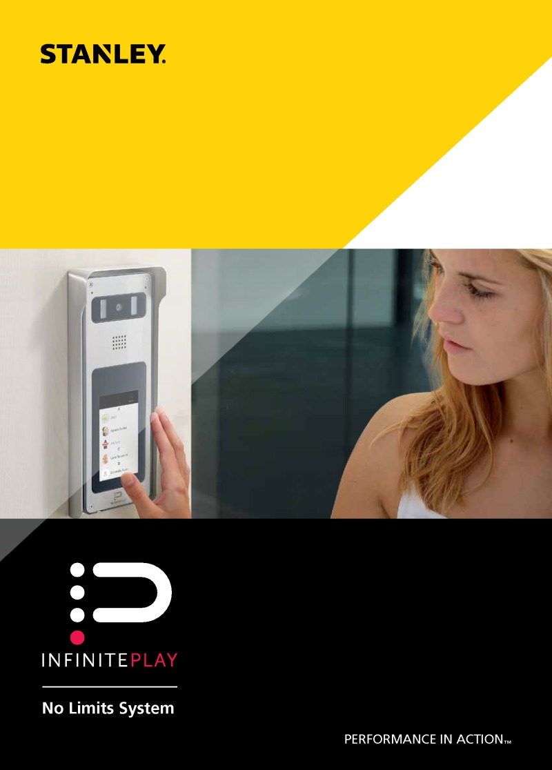 Video Intercom - STANLEY Infinite Play IP brochure
