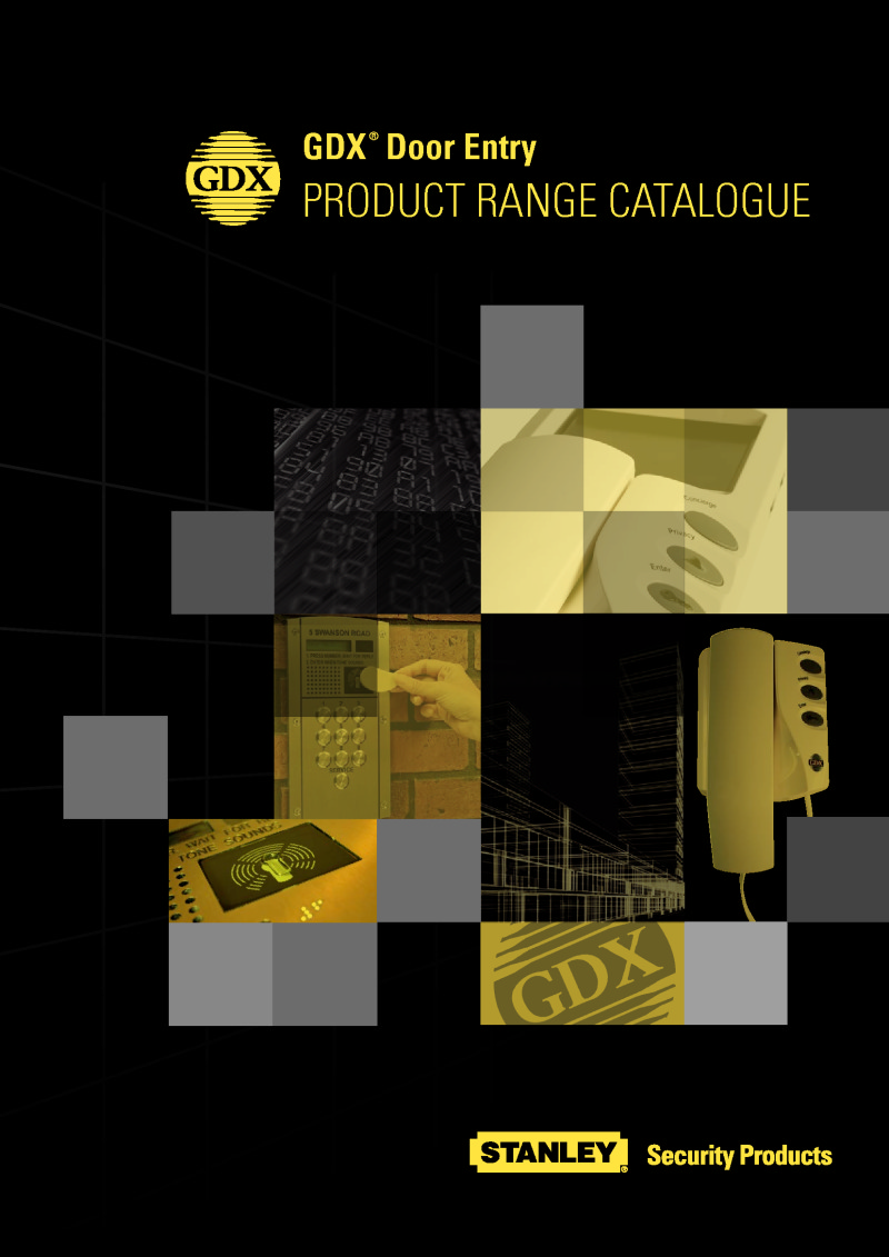 GDX123018 Product Catalogue
