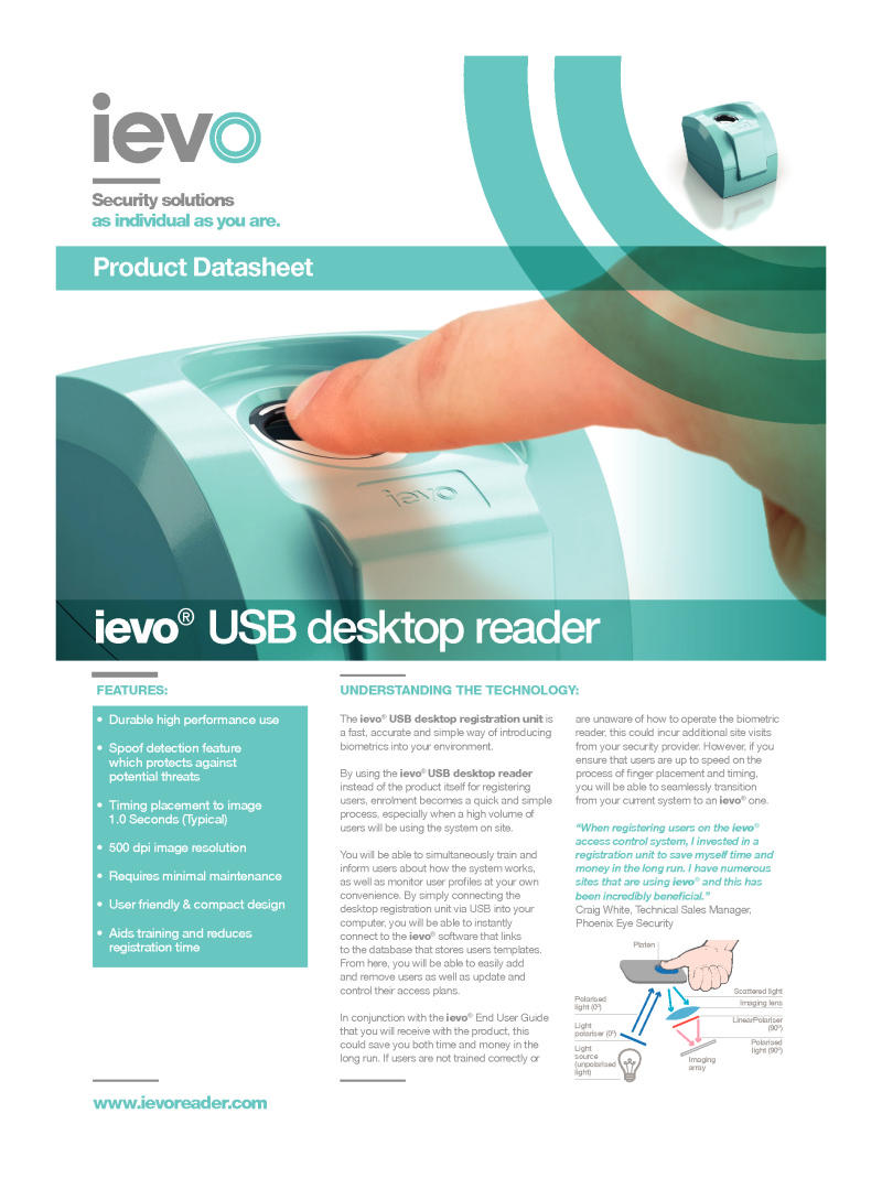 PAC ieveo Desktop Reader