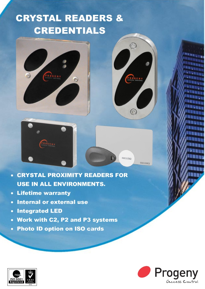 Crystal Readers Brochure