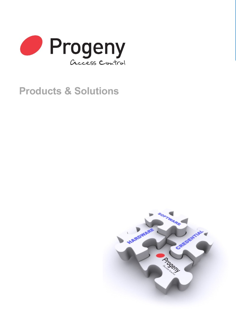 Progeny 2014 Catalogue