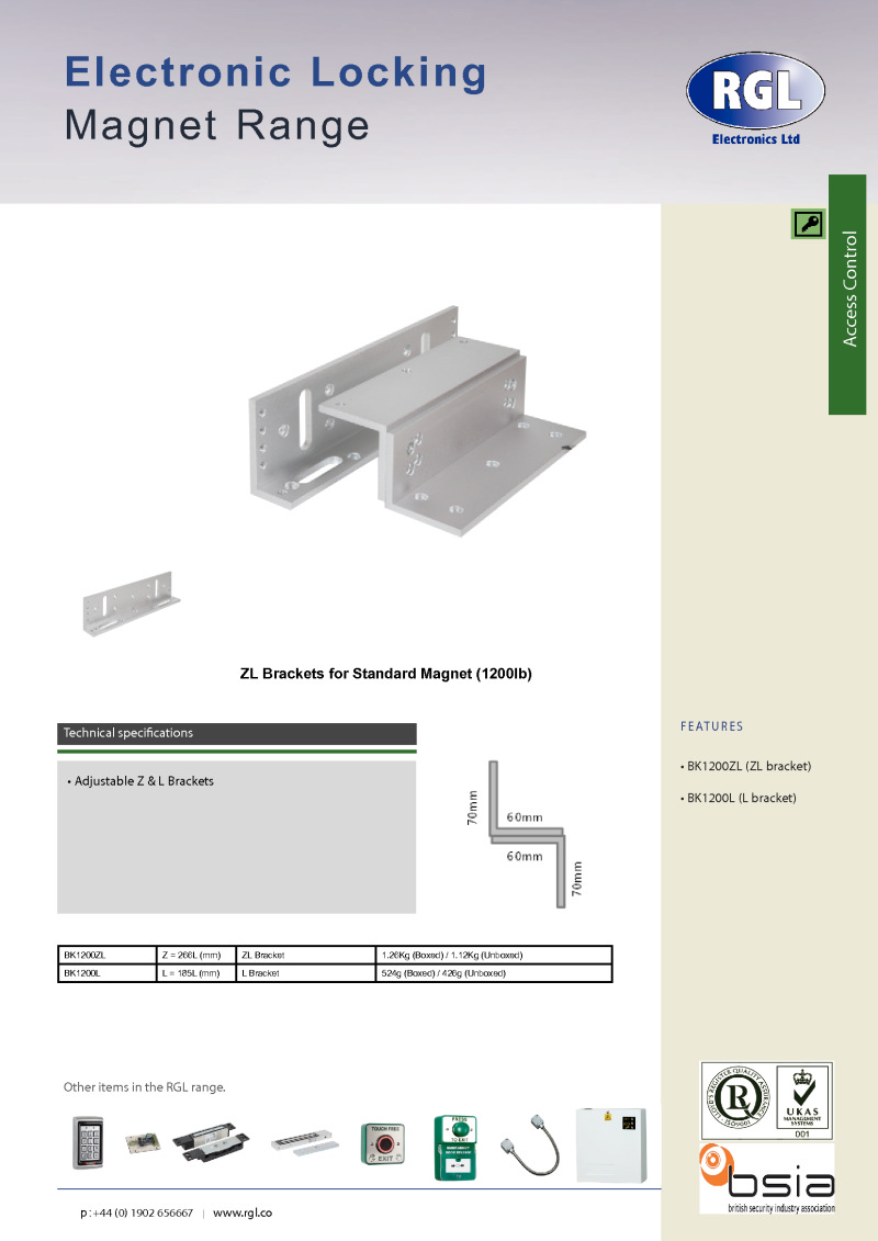 Index Of Acrobat Rgl Brochures Ds Series Magnetic Lock Wiring Instructions
