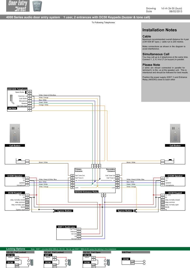 Srs Intercom Wiring Diagram 27 Images Of Telephone