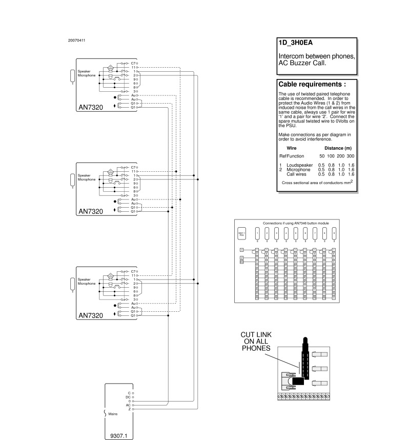 M And S Intercom Wiring Diagrams Com