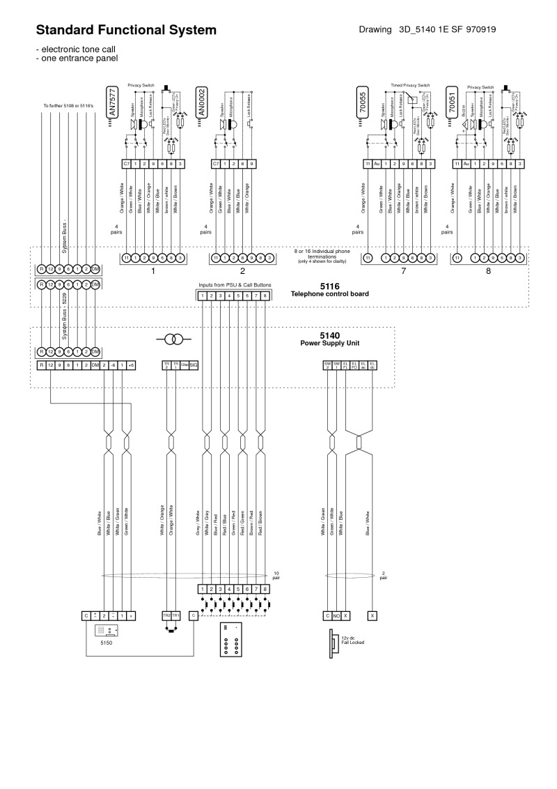 m s mc800 intercom wiring diagrams intercom circuit
