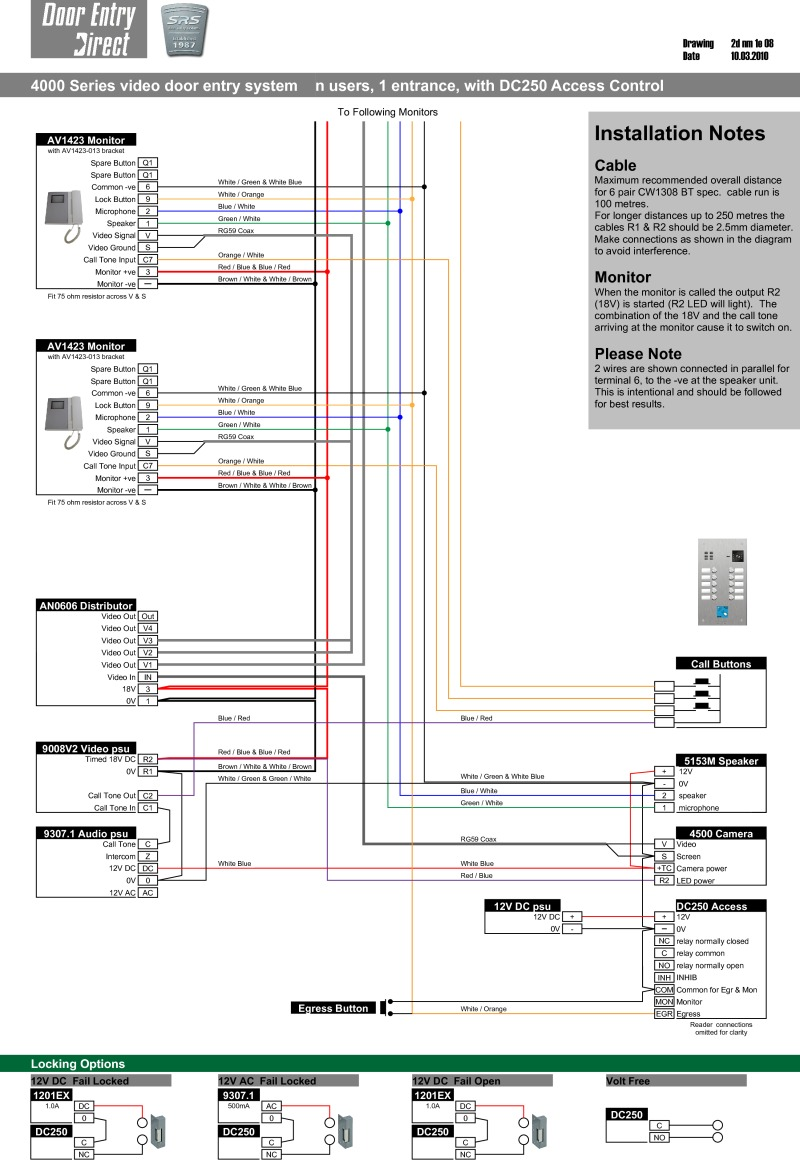 Florence Intercom System Wiring Diagram. . Wiring Diagram on