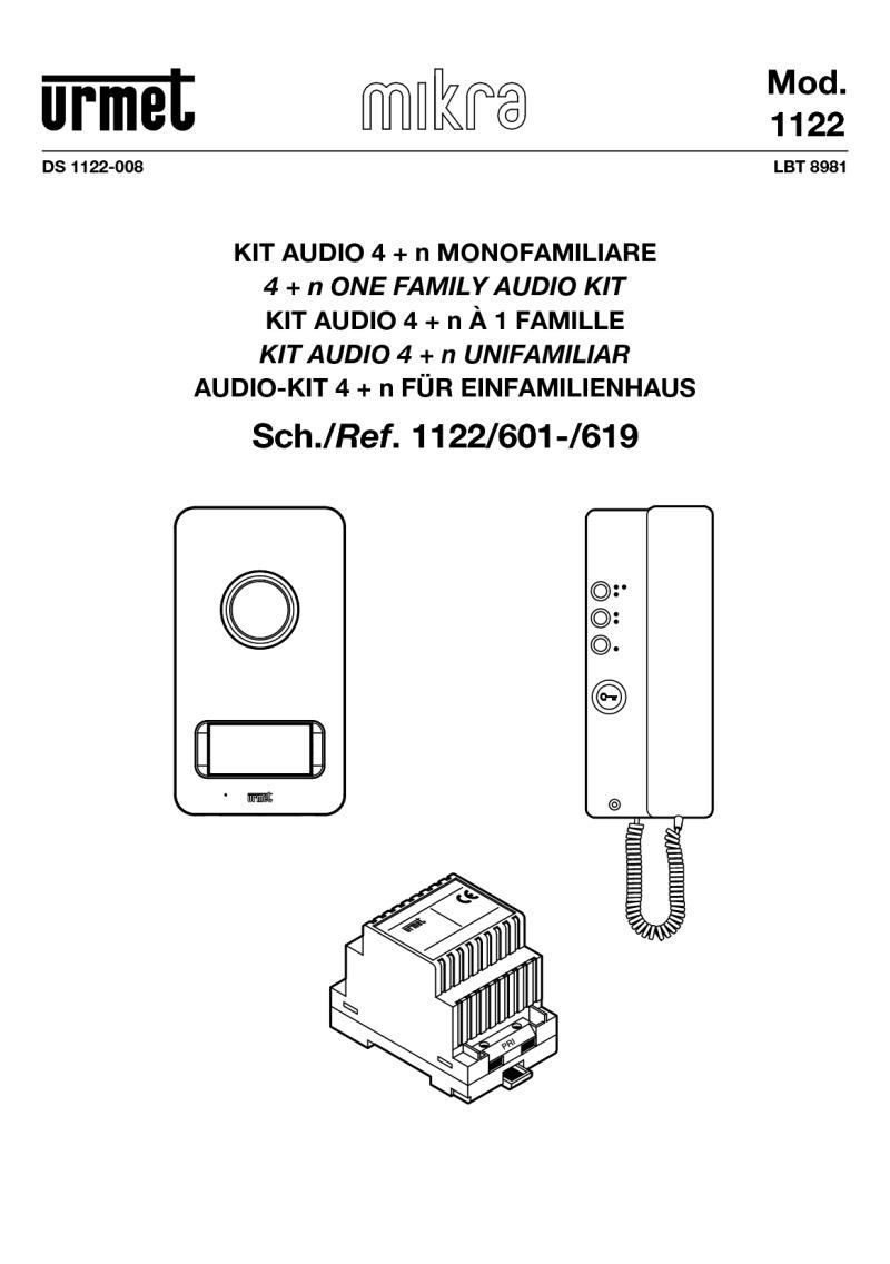 Urmet brochures for Urmet 1150 1 schema elettrico