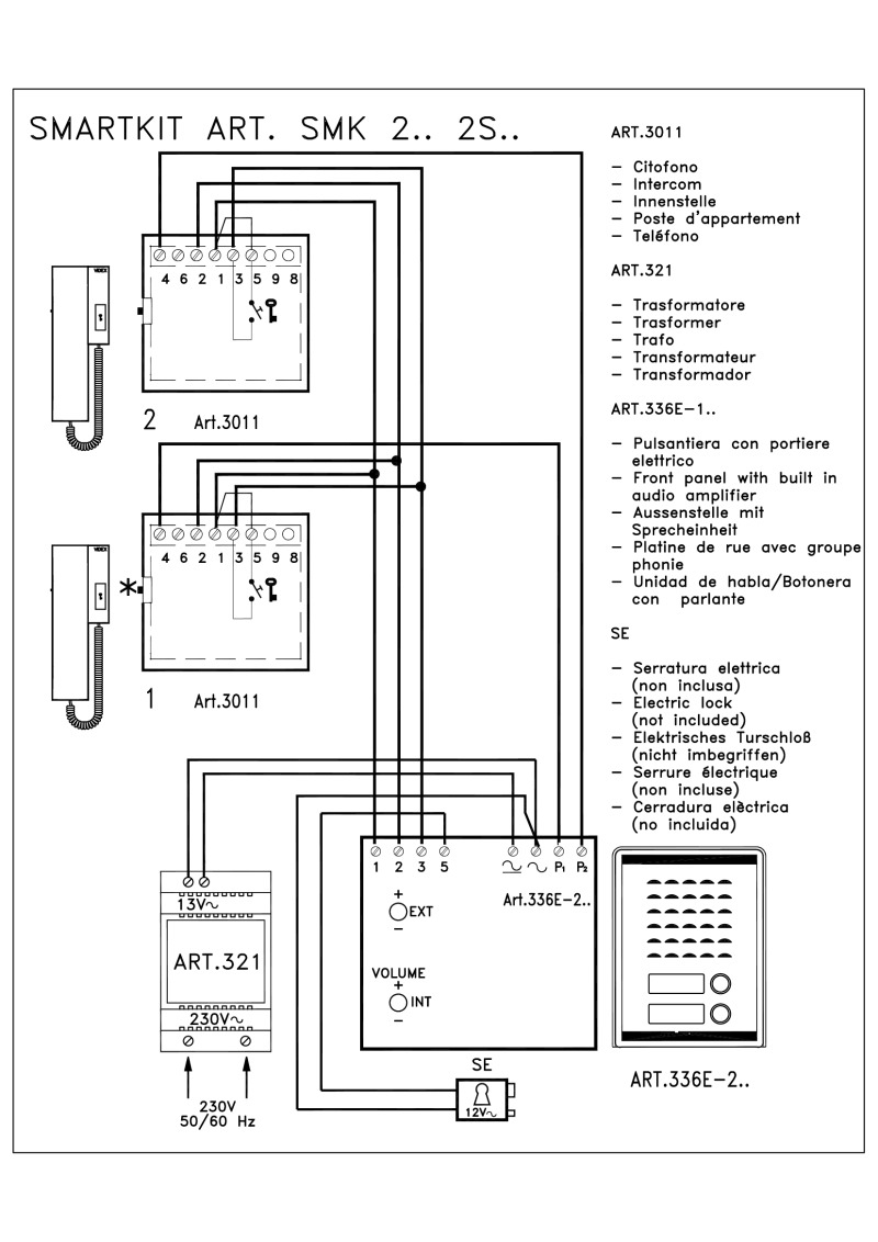 SMK2 videx kit wiring diagrams videx 3011 wiring diagram at readyjetset.co