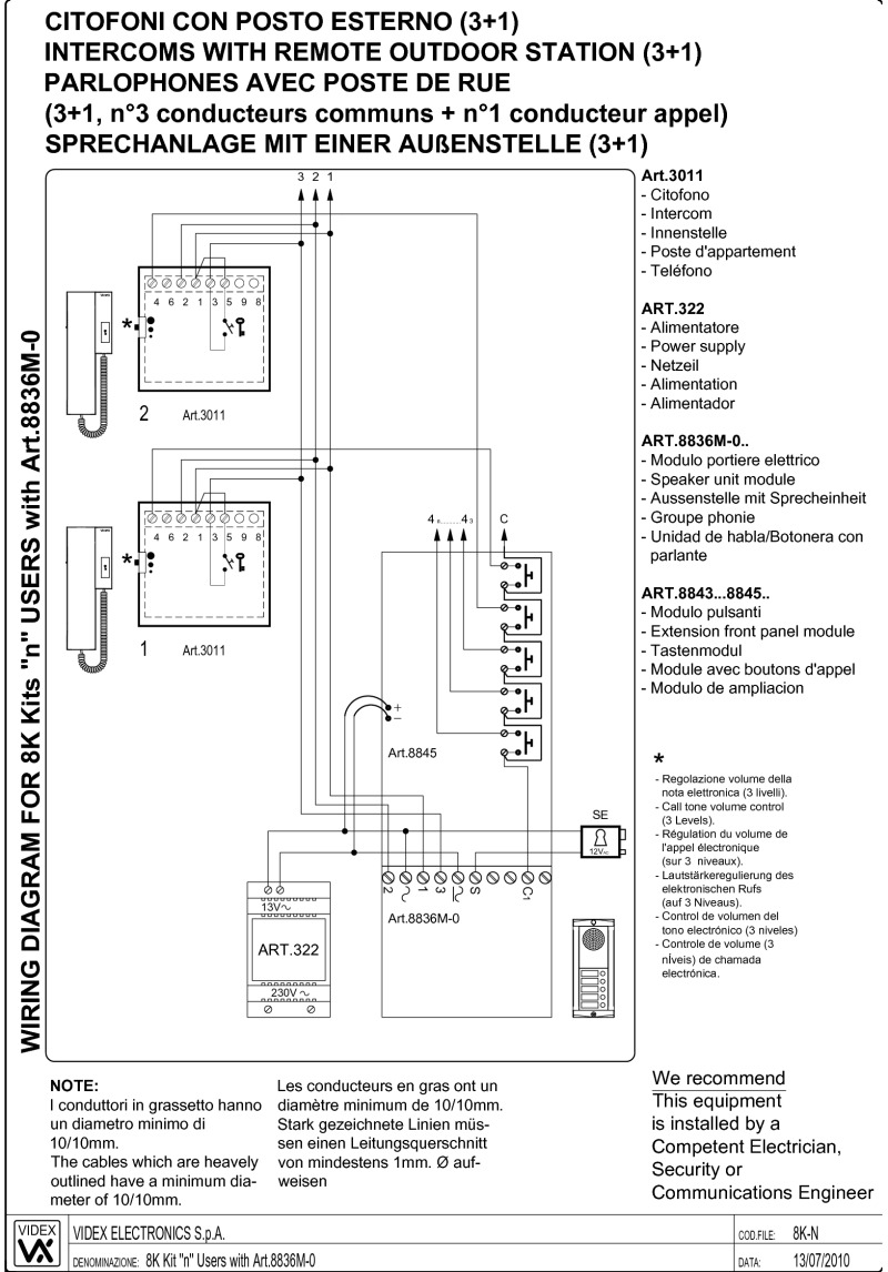 VIDEX_8000_WD videx miscellaneous wiring diagrams Schematic Wiring Diagram ACH 800 at bakdesigns.co