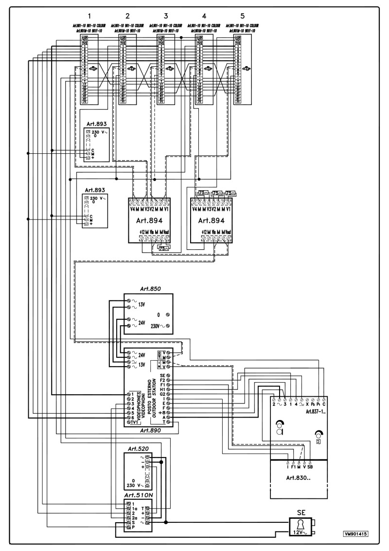 hid reader wiring diagram