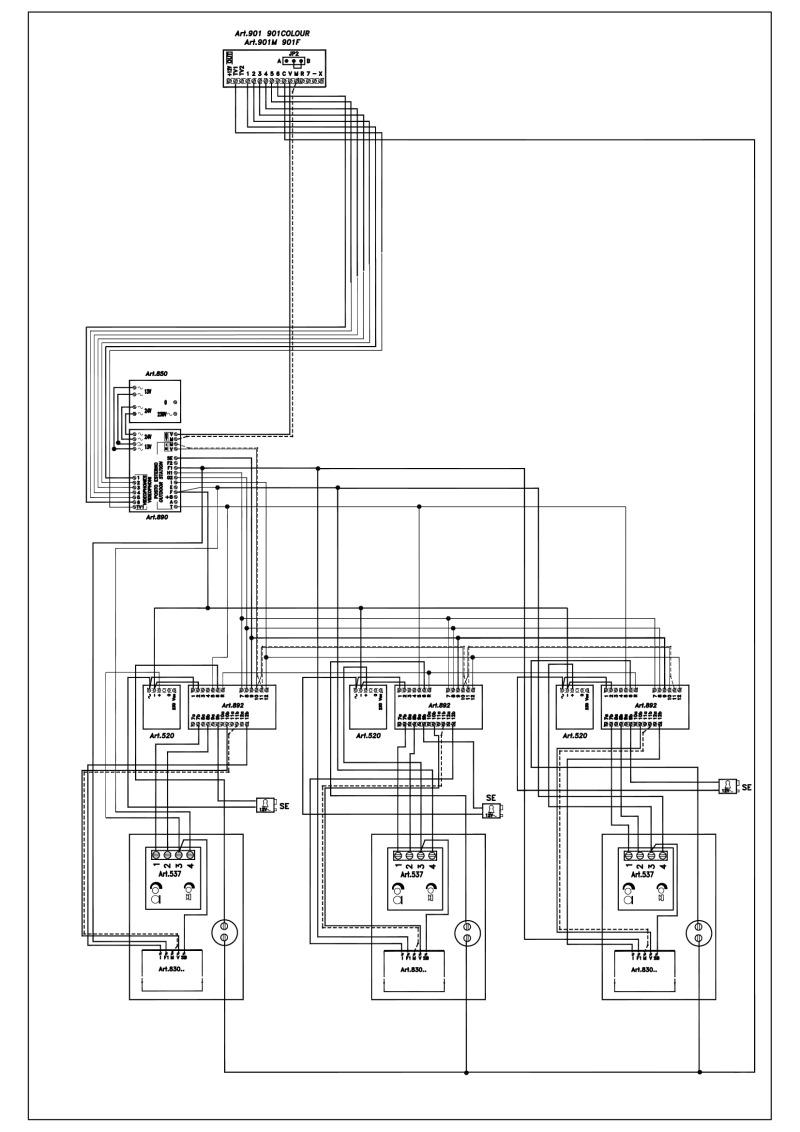 Videx Art 837 Wiring Diagram - Auto Electrical Wiring Diagram on