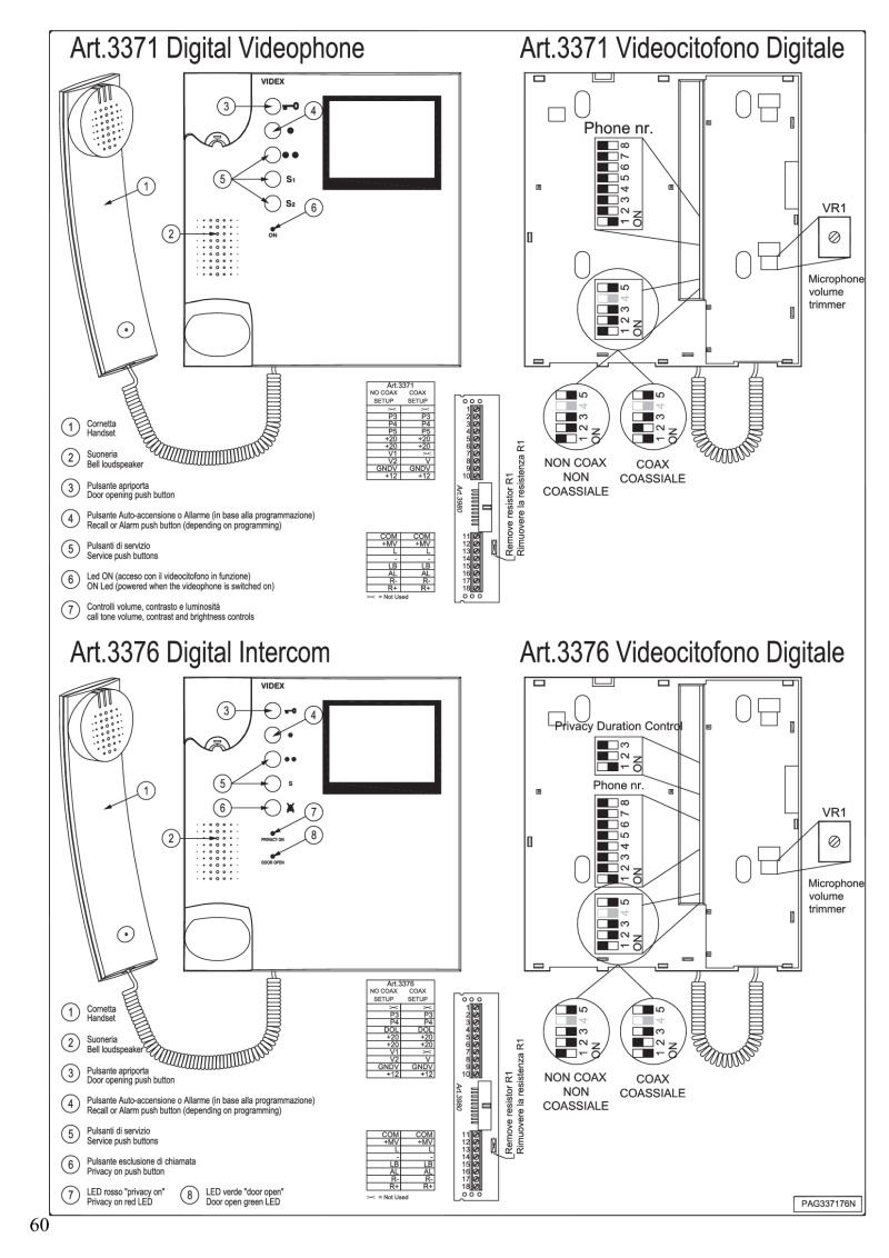 videx 3011 wiring diagram