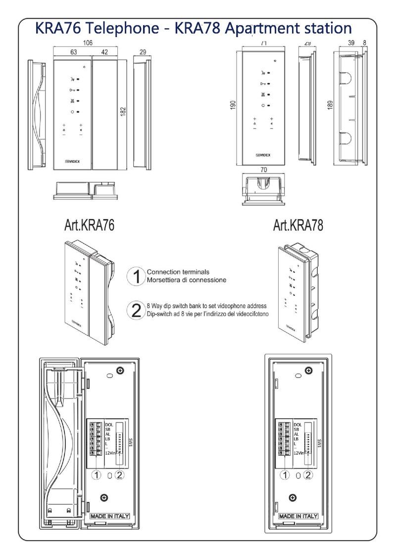 Fantastic Videx Installation Instructions Wiring 101 Olytiaxxcnl