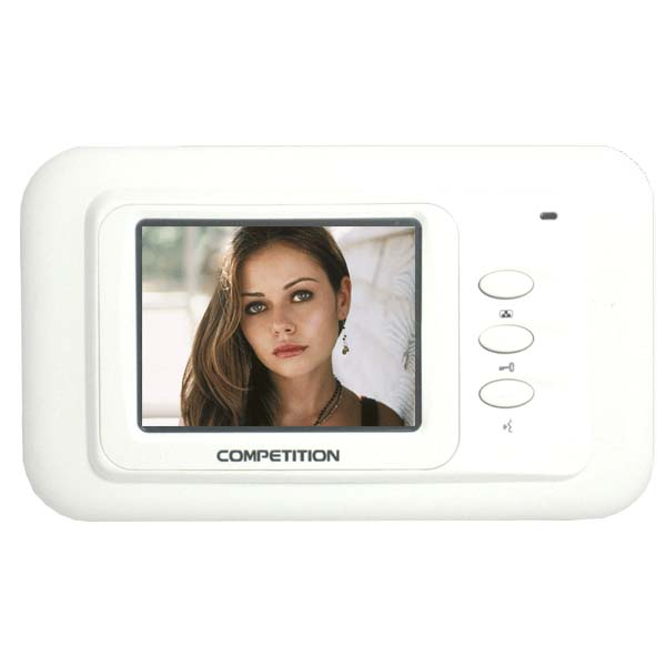 Colour video hands free monitor - hands free 4in TFT screen