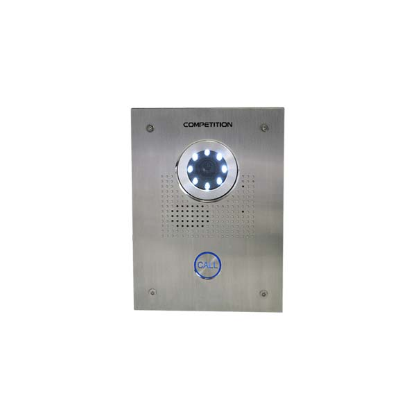 01 way vandal resistant colour video intercom panel