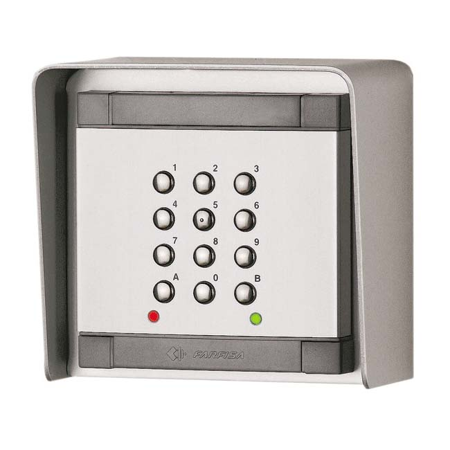 Farfisa Access control keypad for Mody series.