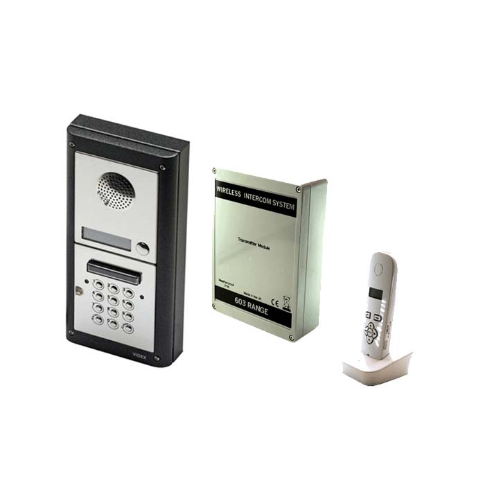 Wireless Intercom With Videx 4000 Series Panel & Keypad