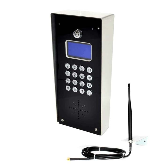 AES - Multi Apartment GSM Digital Intercom 500 Users Hooded Version