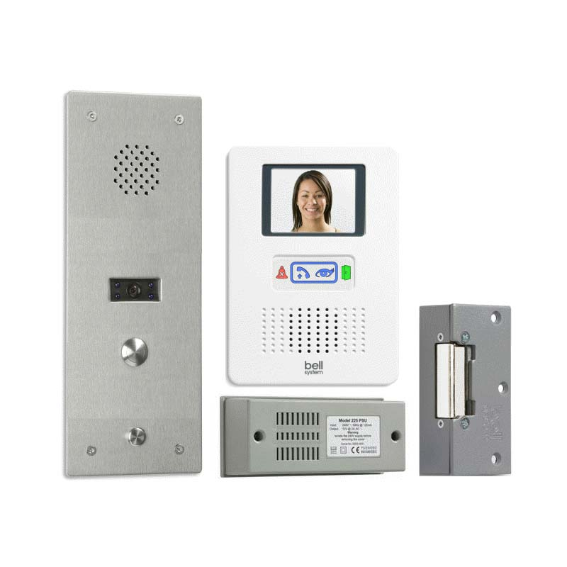 Bell System - 1 Way Bellfree Surface Colour Video Entry kit